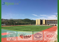 IAAF Professional Rubber Running Track Material Anti UV Long Life For Sports
