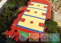 Spu Outdoor Tennis Court Surfaces , Multi Purpose Outdoor Sports Courts Flooring