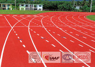 Sandwich System Polyurethane Track Surface 13MM Thickness For Outdoor Sports Flooring
