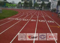 Olympic Track And Field Surface No Reflective For Rubber Runway Construction