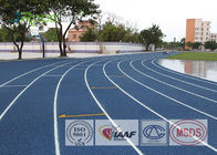 Outdoor Durable Rubber Running Track Material Anti Oxidation Wear Resistant