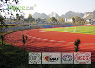 Colorful Rubber Running Track Material , Outdoor Track Field Material Low TVOC