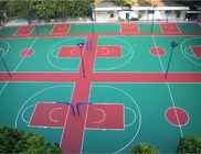 Anti - Ultraviolet Outdoor Multifunctional Sport Court Flooring Basketball Court