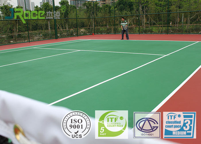 Weather Resistance Multifunctional Sport Court Surface For Tennis Field