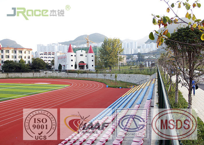 13mm Athletics Running Track 0.56MPa Tensile Strength , Long Lifespan