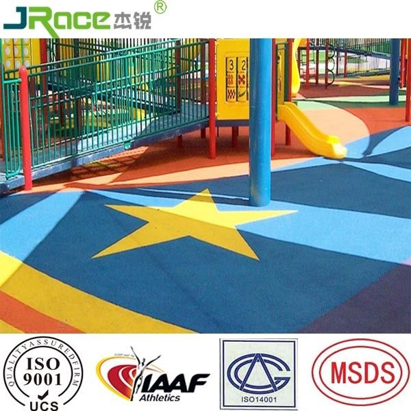 Anti Slip Epdm Rubber Flooring Granules For Children Kids Amusement Park