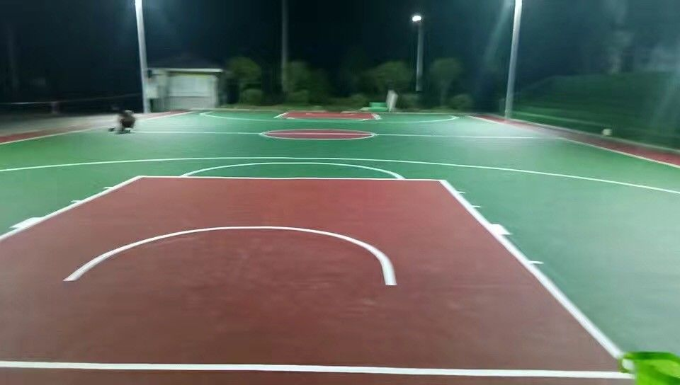 Olympic Acrylic Sports Flooring Coating Abrasion Resistant / Outdoor Tennis Courts