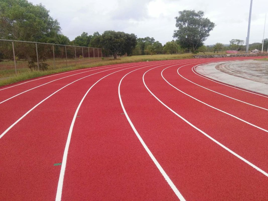 400 Meters Full PU Material Athletics Running Track Surface / High School Running Tracks