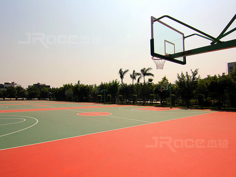 Anti-slip Synthetic Material Basketball Sport Court Flooring Odour Free